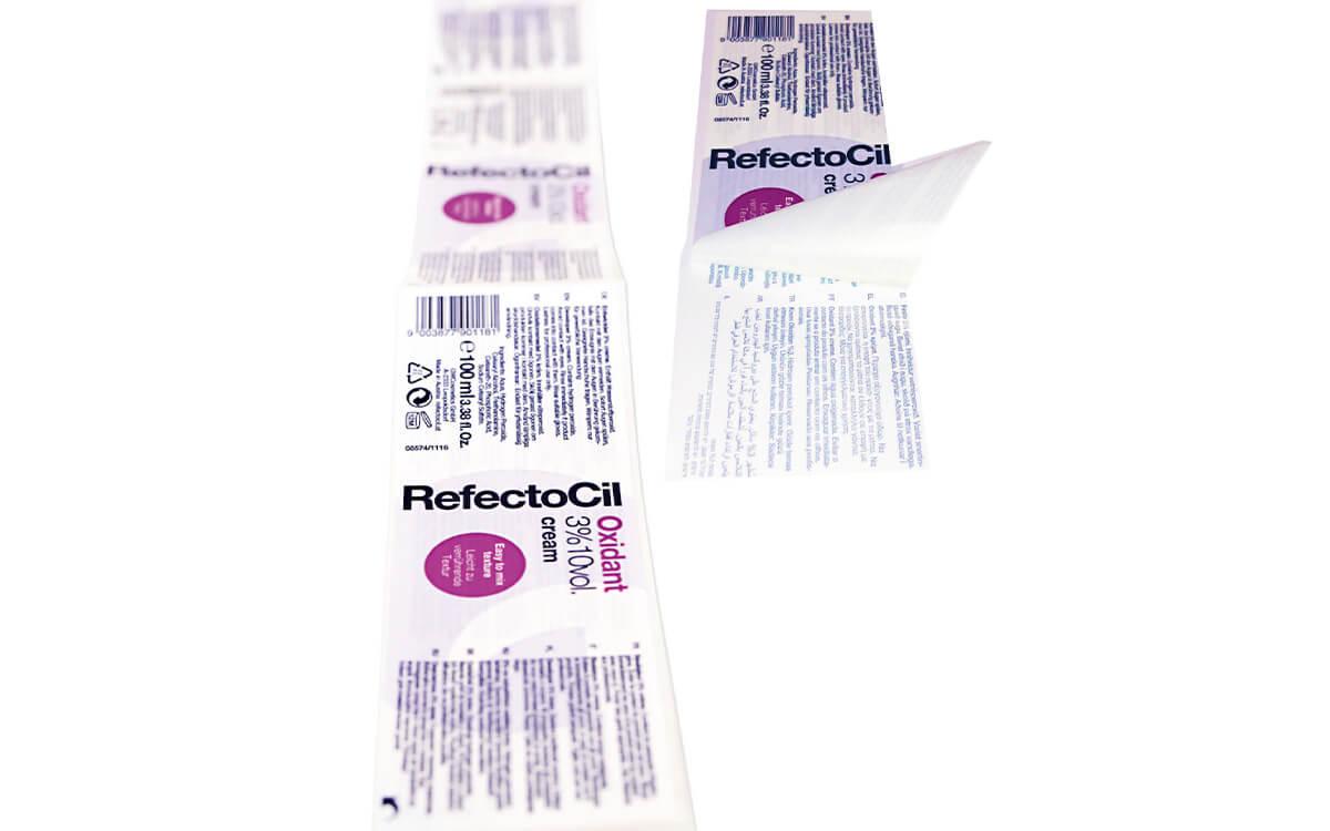 Dvoslojne Peel Off Etikete
