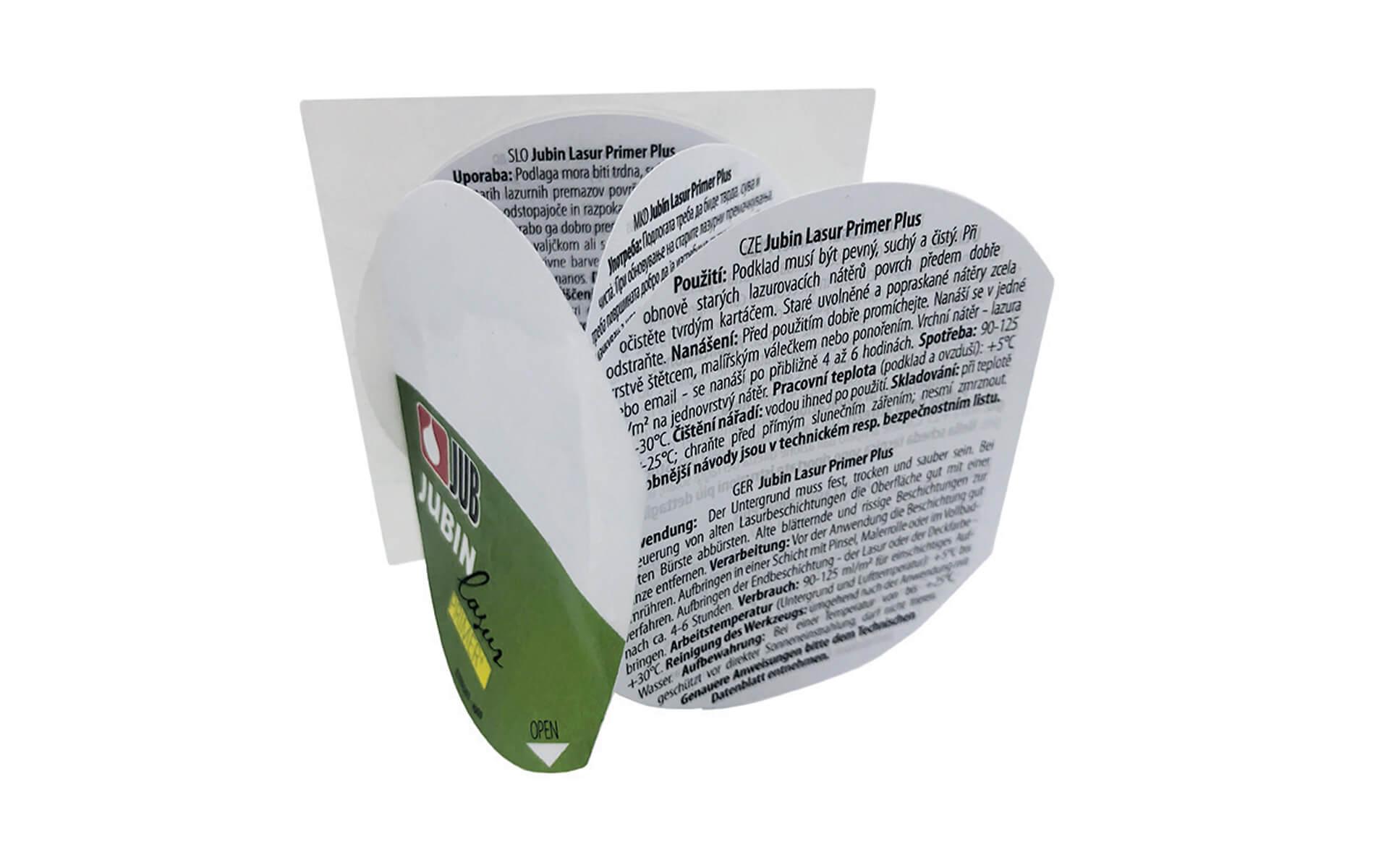 Booklet etikete